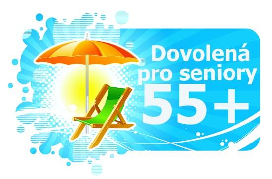 Program dovolená pro seniory 55+